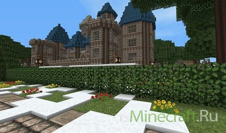 Middle Ages текстур пак для minecraft 1.2.5