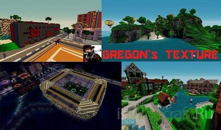 GREGON's [16x16] - текстур пак для Minecraft 1.2.4