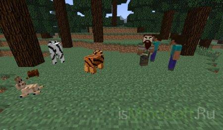 Новые мобы мод V1.2.3b  для Minecraft 1.2.5