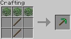 Leaf Pickaxe