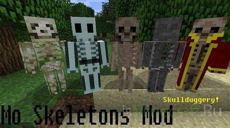 [1.2.5] Minecraft Mo Skeletons Mod
