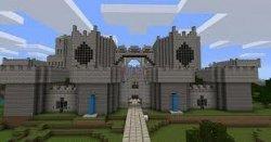 Как построить большой и красивый замок в Minecraft
