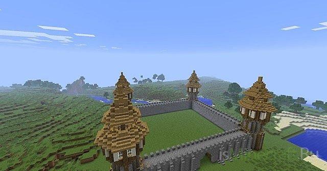[Карта] Средневековый замок