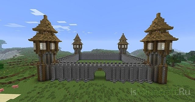 Карта] Средневековый замок »