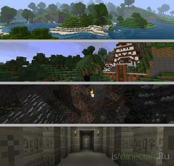 Лучшие текстуры Minecraft » Моды для minecraft ...: isminecraft.ru/publ/448-luchshie-tekstury-minecraft.html