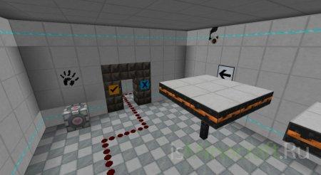 Portal - текстуры для Minecraft