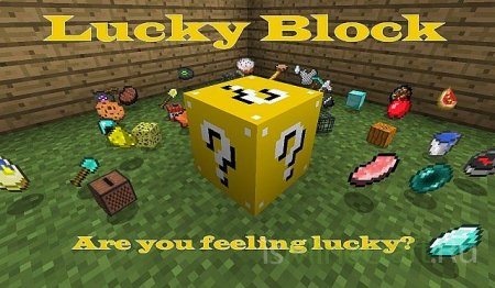 [1.2.5]Lucky Block - найди подарок испытай судьбу