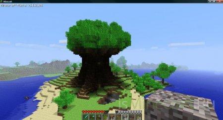 [Карта]Dom on the tree + реалистичные текстуры
