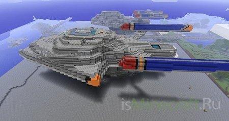 [Карта]USS Atrocities v1.1 - красивый корабль!