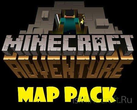 Сборник карт приключений для Minecraft