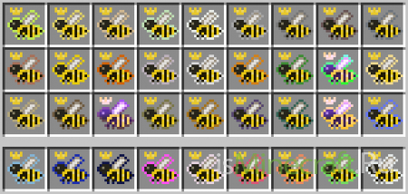 [1.2.5][SSP/SMP/Bukkit/Forestry] Extra Bees 1.1.4