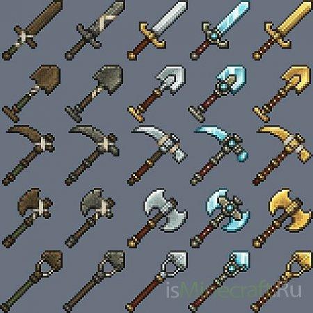 для minecraft, текстуры для minecraft, карты для ...: isminecraft.ru/texture_pack/613-32x17x-dokucraft.html