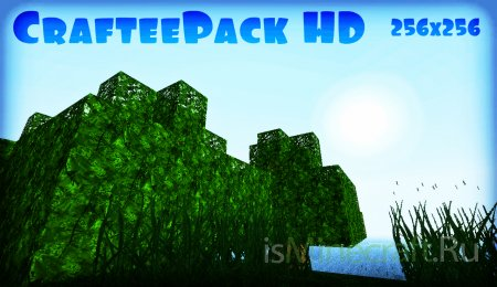 [256x] [1.3.1] CrafteePack HD