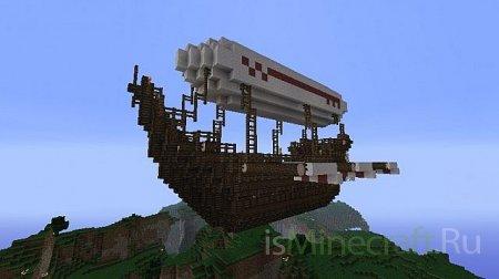 Воздушный корабль фэнтэзи