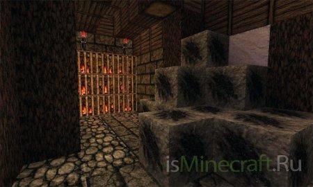 Средневековые текстуры для Minecraft