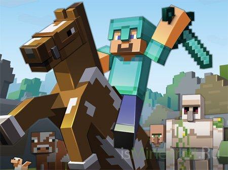 Minecraft 1.6.1 (Horse Update) - обзор