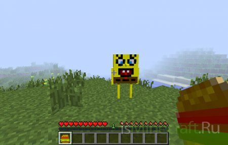 Мод Sponge Bob [1.4.7]