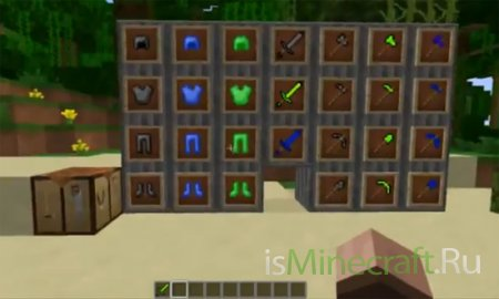 Мод More Tools And Weapons [1.6.2]