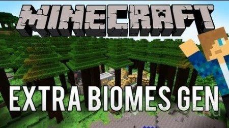ExtraBiomesGen [1.6.2] - генератор биомов
