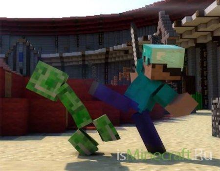 Mob Arena - видеоанимация от Rusplaying