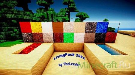LivingPack [256x][1.6.2] - HD текстуры