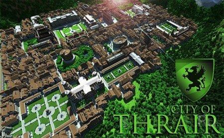 City of Thrair [1.6.2] - громадна карта