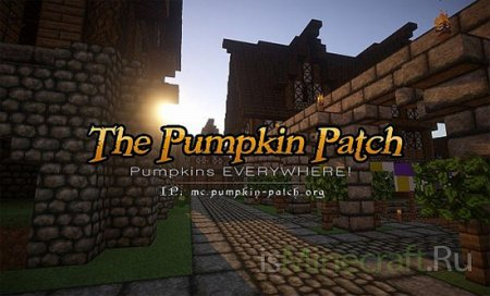 Pumpkin Patch Resource Pack [1.6.4][32x]