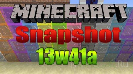 Minecraft Snapshot 13w41a