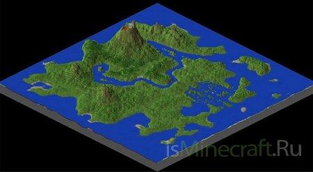 Volcano Island [Карта] - остров вулканов