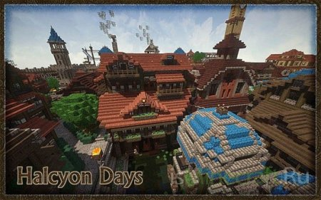 Halcyon Days Resource Pack [1.7.2/1.6.4/1.6.2] [32x]