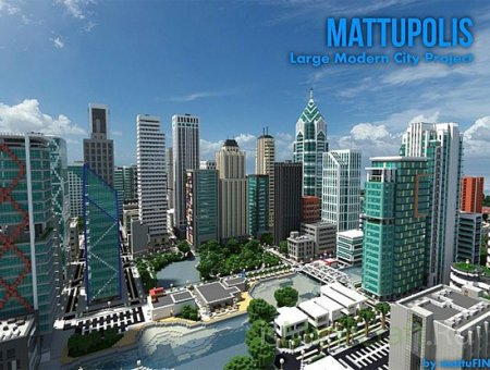Mattupolis: Large Modern City [Карта]