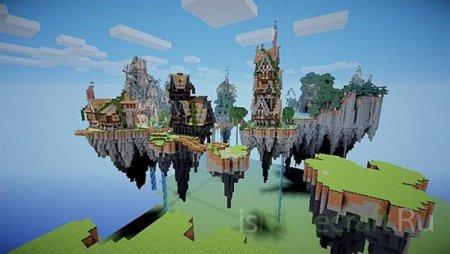 Steampunk Floating Village [Карта]