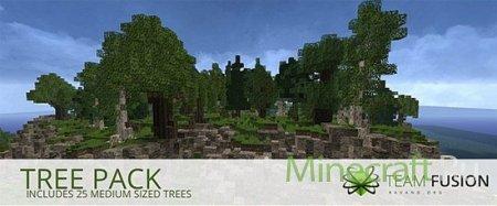 European Tree Pack - новые деревья