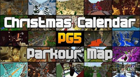 Parkour Map Christmas Calendar [Карта]