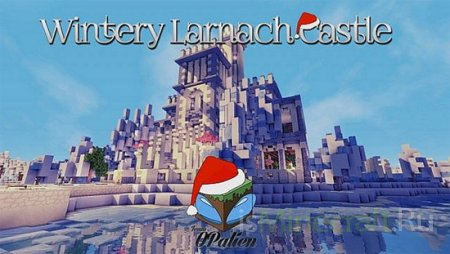 Wintery Larnach Castle [Карта]