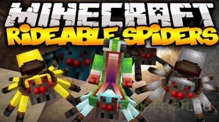 Ridable Spiders [1.6.4] - ��������� �����