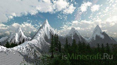 Swiss Alpine Landscape [Карта]