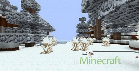 Zedercraft Winter pack [1.7.4] [64x]
