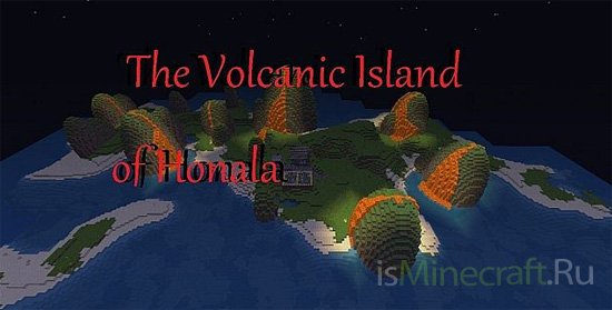The Volcanic Island of Honala [Карта]
