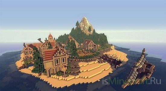 Ladrillo de piedra Island [Карта]