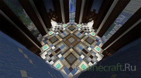 Skyblock Server Spawn [Карта]