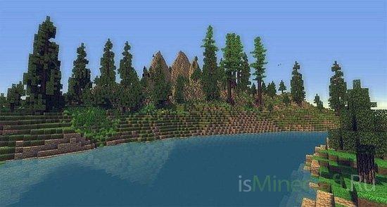 Mountains? Trees? [Карта]