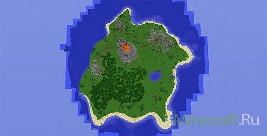 Minecraft Survival Island [Карта]