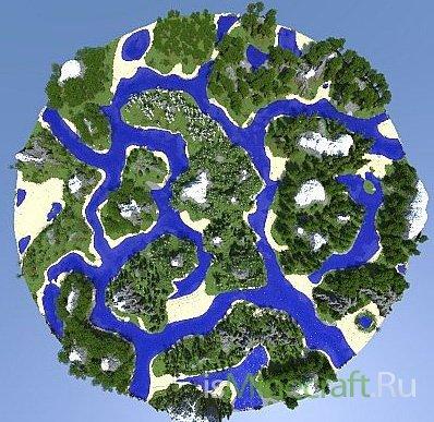 Custom Terrain - Archipelago V2 [Карта]