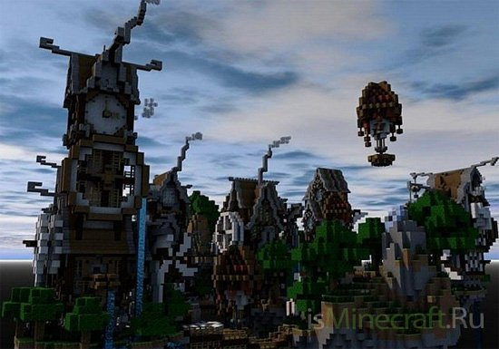 Steampunk village [Карта]