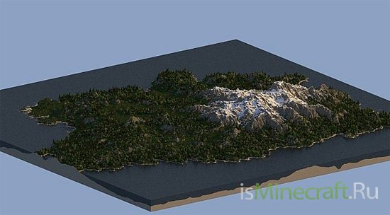 Island of Desire - Custom World Machine Map [Карта]