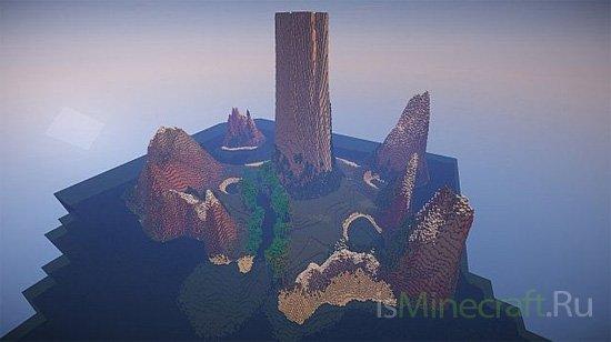 The Volcano Island [Карта]
