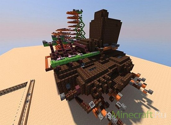 Nether Give Up *Mob Arena* [Карта]