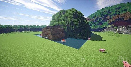 Fallen Tree House [Карта]
