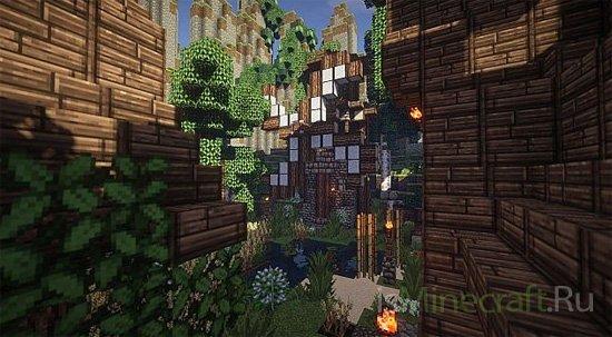 Medieval Village Timelapse [Карта]